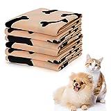 Nobleza - 6 x Hundedecke Weiche Fleecedecke Waschbare Deck für Haustier Hunde Katzen Welpen Weiche...