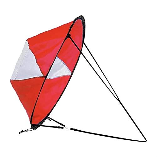 JQDMBH Vela de Viento de Kayak,Paleta de Viento a Favor Kit de Vela de Viento de Viento de Viento Kayak Paddle PABITA Accesorios EXPLICACIÓN DE LA CONFIGURACIÓN EXPLEMENTADORA por COMPACTURA RÁPIDA