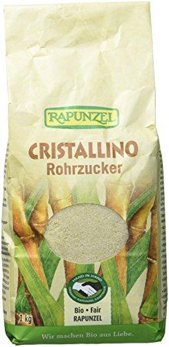 Rapunzel Cristallino Bio Rohrzucker, (3 x 1 kg)