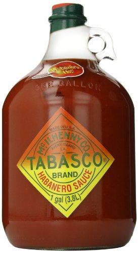 TABASCO Habanero Sauce Gallon, glass