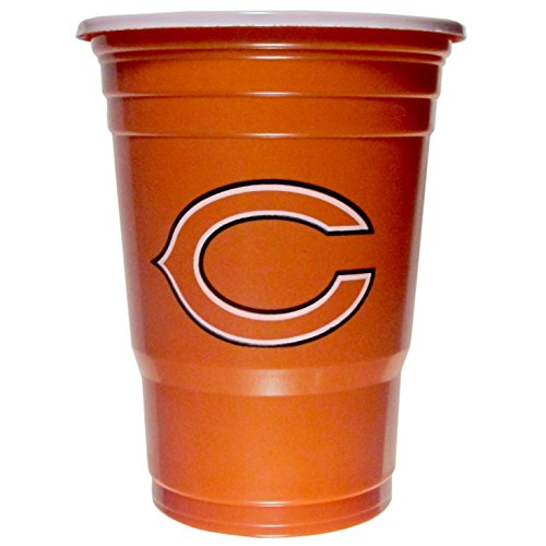 NFL Siskiyou Sports Fan Shop Chicago Bears Plastic Game Day Cups 18 count Team Color