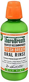 TheraBreath Fresh Breath Oral Rinse Mild Mint 16 fl oz 473 ml