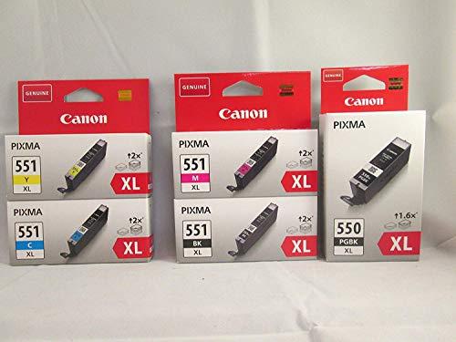 Canon CLI-551XL Bundle