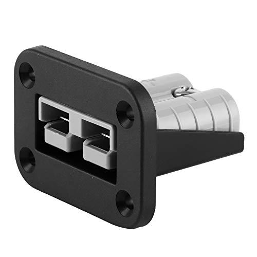 Mothinessto Un Enchufe para vehículo con Soporte de Montaje Empotrado, el Alcance de Uso es Muy Amplio Equipado con Dos Puertos USB 50A Auto Plug, para la instalación