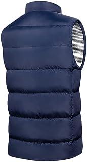 JFTMY 9 Zones Heated Vest Men Women USB Electric Heated Jackets Sportswear Thermal Coat Winter Graphene Heating Jacket for...