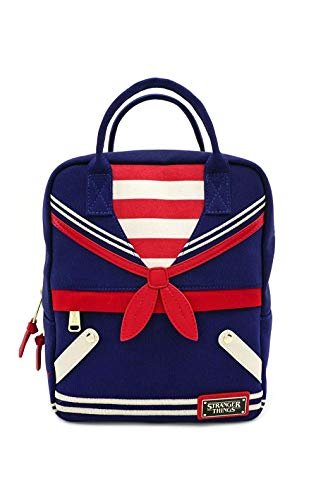 Loungefly x Stranger Things Scoops Ahoy Uniform Mini Backpack (One Size, Multicolored)