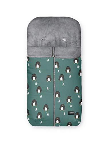 Bimbi Saco Carro Punto 452 Pingüino 374 56 - Sacos de abrigo, unisex