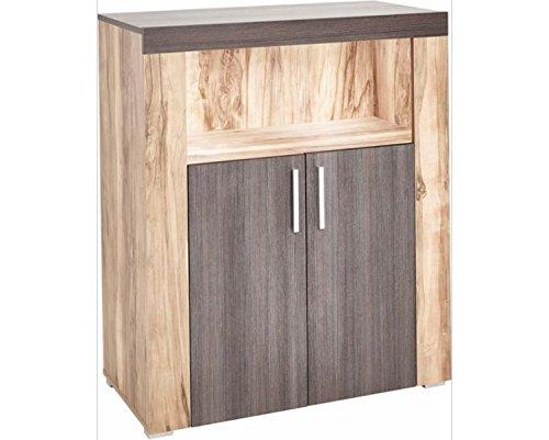 Moebelaktionsshop24 KOMMODE STAURAUM Schlafzimmer Wohnzimmer Satin NUSSBAUM Farbe Darkwood NEU 618021