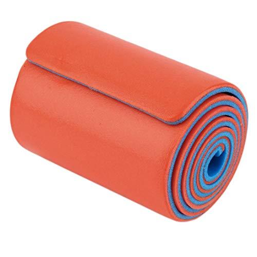1 stücke 11 * 46 cm / 11 * 92 cm hochpolymeren medizinischen verwendungstyp orange und blau Aluminium Ausbildung schiene repariert erste Hilfe Verband Rolle