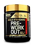 Optimum Nutrition Gold Standard Pre Workout, Booster de Pré-Entraînement avec Creatine Monohydrate, Bêta-Alanine, Cafeine et Vitamine B Complex, Cocktail de Fruits, 30 Portions, 330 g