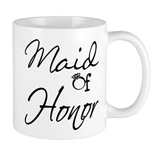 CafePress - Maid Of Honor Tasse - Einzigartige Kaffeetasse, Kaffeetasse, Teetasse
