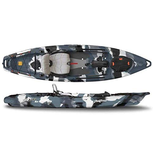 FeelFree Lure 11.5 Kayak w/ Sonar and Electronic Pod Winter Camo