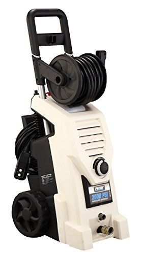 Pulsar PWE2000 Electrical Pressure Washer with Hose Wheel, 2000 PSI