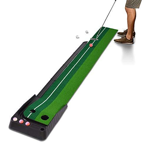HXG Tapis de putting de golf, Tapis de Golf et 6 balles,...