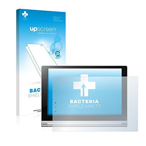 upscreen Protector de Pantalla Mate Compatible con Lenovo Yoga Tablet 2 10.1 2-1050F Película Protectora Antibacteriana - Anti-Reflejos, Anti-Huella