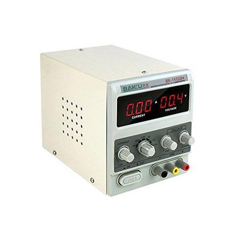 Fuente de alimentación analógica BAKU - 1502D+ Protección contra cortocircuitos