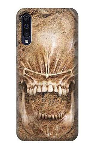 Innovedesire Alien Skull Fossil Hülle Schutzhülle Taschen für Samsung Galaxy A70