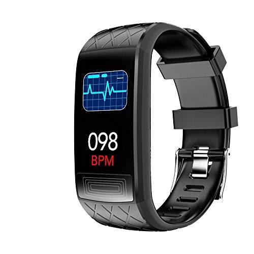 Fitnessarmband, Aktivitätsmesser, wasserdichte Smartwatch (IP67), Sportuhr, misst Blutdruck, Blutsauerstoff, EKG, Herzfrequenz, Entfernung usw. / Kompatibel mit gängigen Smartphones