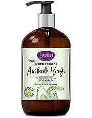 Duru Değerli Yağlar Nemlendiricili Avokado Yağı Sıvı Sabun, 500 ml