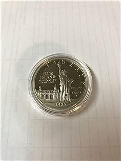 1986 S Statute of Liberty Ellis Island Coin $1 Proof