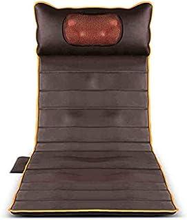 Colchoneta Masaje Todo Cuerpo Calor Cojín Masajeador Espalda Calor Vibración Cadera Relajar Los Músculos Aliviar Dolor Fatiga Sentarse Acostado Oficina Automóvil