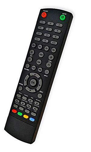 Mando a Distancia sustituto para TV Manta LED1905; Manta LED4206; Manta LED4801