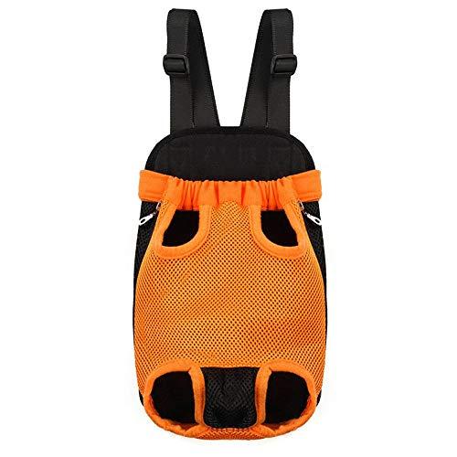 Dog Carrier Backpack, Transporteur De Sac À Dos pour Chien Réglable en Mains Libres pour Animaux De Compagnie, pour La Randonnée, Le Vélo Et La Moto,F,M