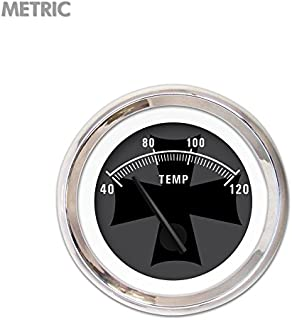 Aurora Instruments GAR2139ZEXLABCE American Retro Rodder IV Water Temperature Gauge