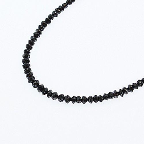 【KASHIMA】合計20ct ブラック ダイヤモンド フル ネックレス