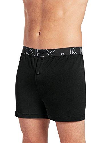 Jockey Mens Underwear ActiveBlend Knit Boxer