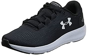 Under Armour Men s Charged Pursuit 2 Running Shoe Black  001 /White 11 M US