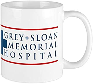 Grey Sloan Memorial Hospital Coffee Mug TV Entertainment Gifts for Her Birthday Christmas Valentine's Day