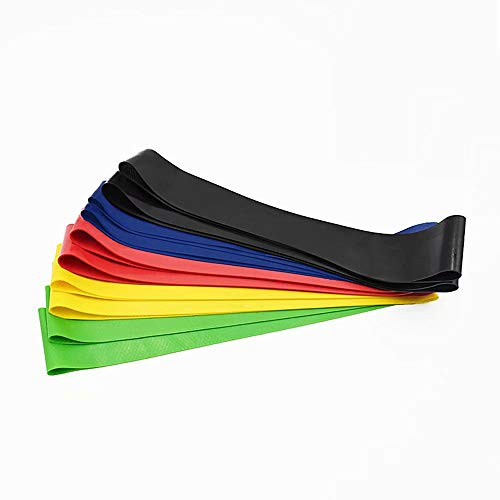 QSs-Ⓡ Non-Slip Resistance Bands, Fitness Bands, Tension Bands, Elastic Bands, Latex Non-Slip Tension Ring Fitness Bands, Training, Physiotherapy, Stretching, Home Fitness