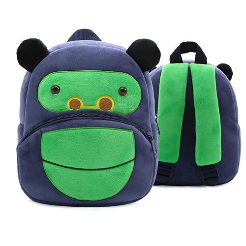 MINGPAI Linda mochila escolar con forma de pingüino amarillo para niños de 2 a 4 años (9,26.5 * 24 * 10.5CM)