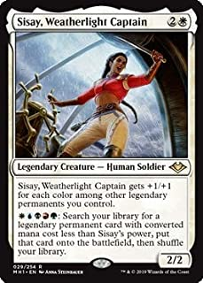 Magic: The Gathering - Sisay, Weatherlight Captain - Modern Horizons