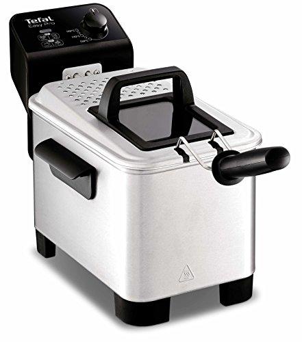 Tefal Easy Pro FR3330 koeler, 2200 W, 3 liter, zwart, roestvrij staal