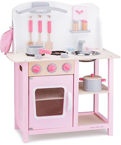 New Classic Toys - 11054 - Jeu D'imitation - Cuisine - Bon Appetit - Rose