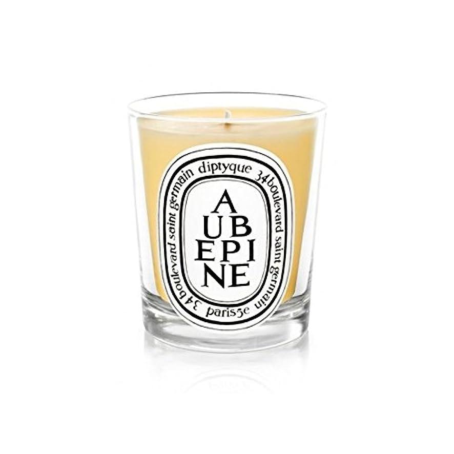 縫うバイナリ飲み込むDiptyque Candle Aub?pine / Hawthorn 190g (Pack of 6) - DiptyqueキャンドルAub?pine/サンザシ190グラム (x6) [並行輸入品]