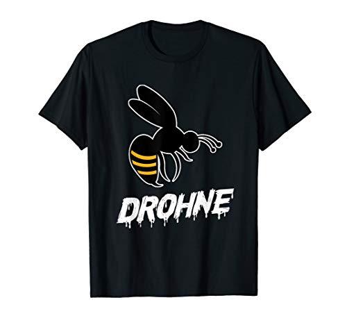 Biene Drohne Bienen Imker Hummel Bienenstock Wabe Geschenk T-Shirt