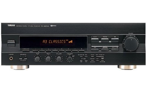 Yamaha RX 396 RDS Stereo-Receiver schwarz