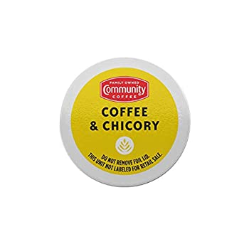 Community Coffee & Chicory 72 Count Coffee Pods Compatible with Keurig 2.0 K-Cup Brewers  12 Count Pack of 6