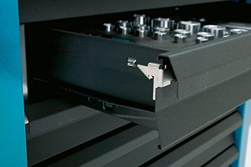 HAZET Werkstattwagen Assistent (4 flache und 2 hohe Schubladen, Traglast pro Schublade 20 kg, Gesamttragkraft (statisch): 300kg) 177-6 - 7