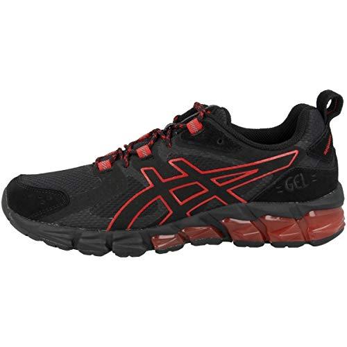 ASICS Gel-Quantum 180, Running Shoe Homme, Black/Classic Red, 42 EU