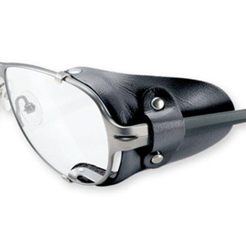Seitenschutz aus Leder in schwarz