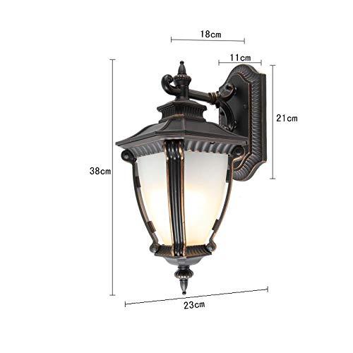 Buitenwandverlichting, waterdicht, voor buiten, terras, deur, waterdicht, palen, alllee, balkon, wandlamp, buitenverlichting, wandlamp