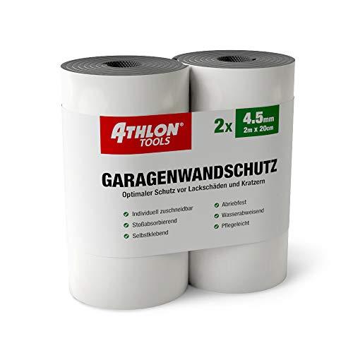 ATHLON TOOLS Premium Garagenwandschutz   je 2 m lang   Auto Türkantenschoner Türkantenschutz