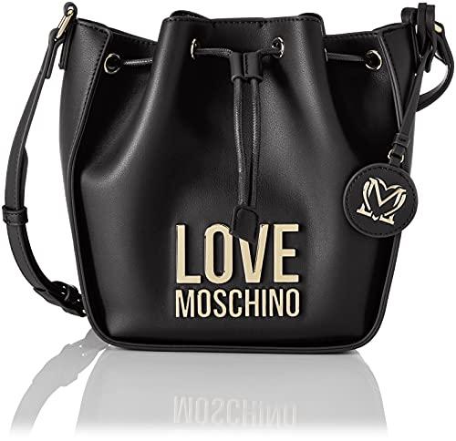 Love Moschino, Secchiello Donna, Pre Collezione Autunno Inverno 2021, Nero, U