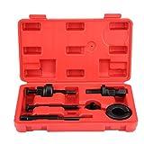 EVTSCAN Kit d'outils d'installation de dissolvant d'extracteur de Kit de poulie de Pompe de Direction assistée pour GM Ford C2 C111 6 Pack