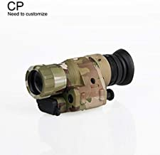 Canis Sport INC Digital Night Vision, PVS-14 IR Night Vision Monoculars with J-Arm for Helmet, Picatinny Rail Adapter, for Night Patrol Hunting Home Defense