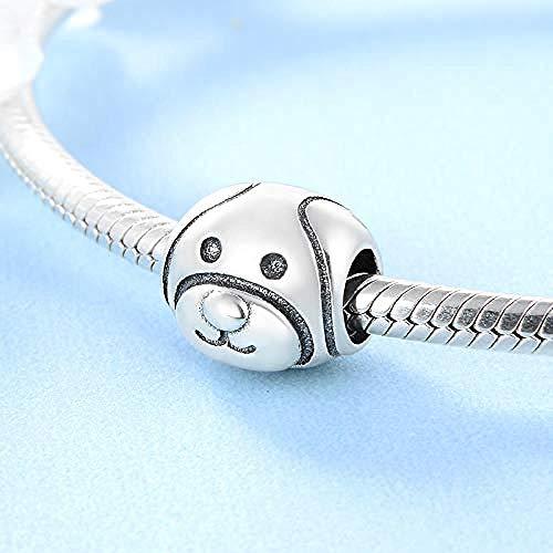 Charm Anhänger,Neue 925 Sterling Silber Mode Niedliche Hundebetten Passen Original Charm Armband Schmuckherstellung